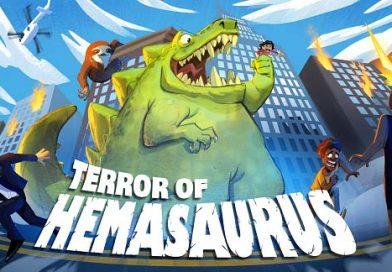 Terror of Hemasaurus คือผู้สืบทอดของ Rampage อย่างแท้จริง